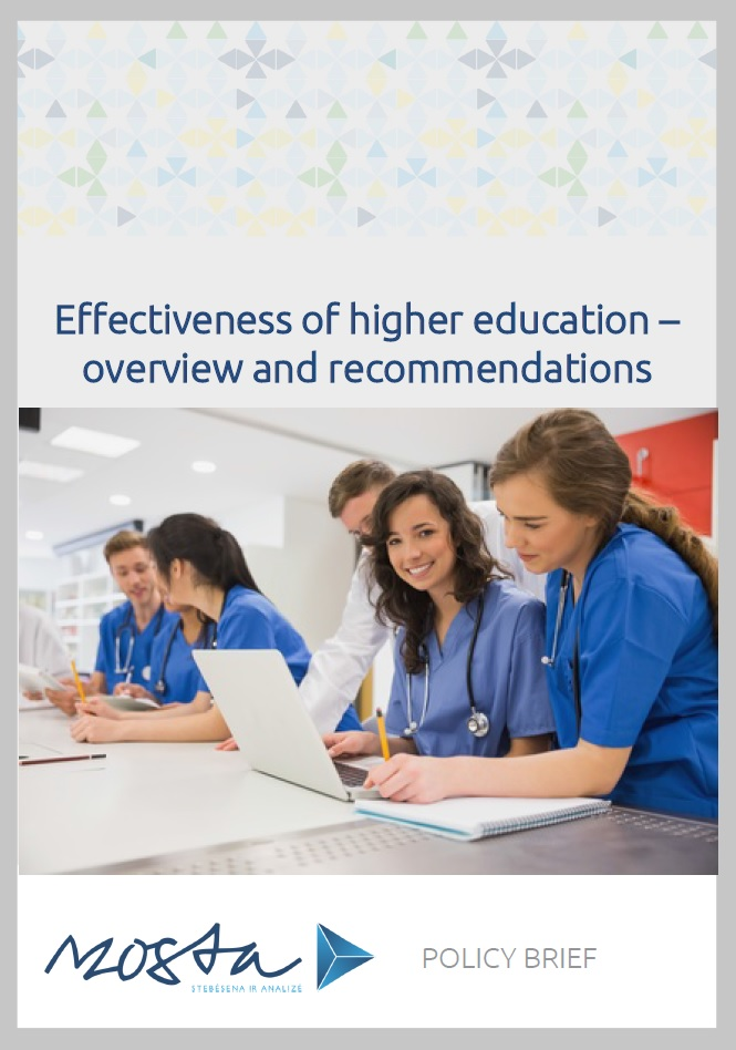 Effectiveness of higher education Policy brief virselis